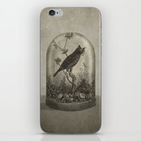 plant iPhone & iPod Skins featuring The Curiosity  by Terry Fan