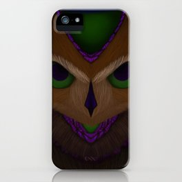 Mystic Owl iPhone Case