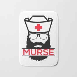 Murse Male Nurse Hospital Health Care Bath Mat