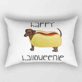 Happy Halloweenie Rectangular Pillow
