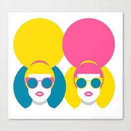 Glam Girls Canvas Print