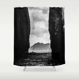 Diverge Shower Curtain