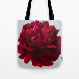 Peony Red Tote Bag