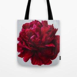 Peony Red Tote Bag