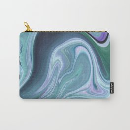 Blue Ocean Wave Abstract Carry-All Pouch
