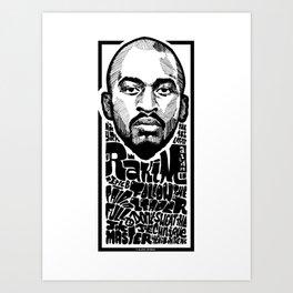Mr.Rakim / Rapper's Delight Art Print