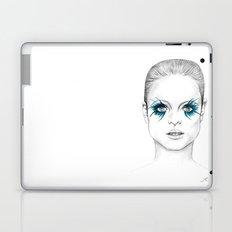 Blue Eyed Girl Laptop & iPad Skin