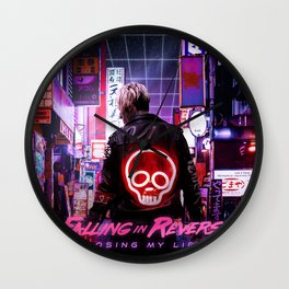 FALLING IN REVERSE LOSING MY LIFE TOUR DATES 2019 EHSAN Wall Clock