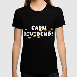 Forex Investor Trader Foreign Exchange Investment Businessman Earn Dividends T-shirt