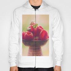 Raspberries fruit enjoyment Hoody