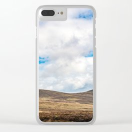 Rolling Irish Hills Clear iPhone Case