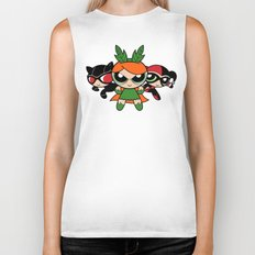 Supervillain Girls Biker Tank