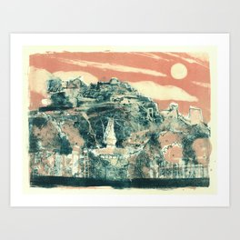 Castle Rock Art Print