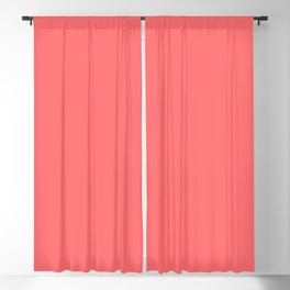 Matching Light Coral Blackout Curtain
