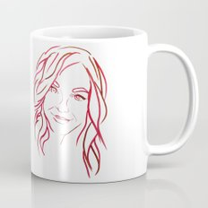 Red Portrait Mug