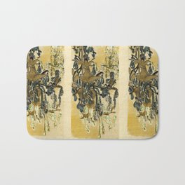 French Chandeliers Bath Mat