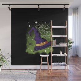 Halloween-If the Hat Fits-Witch Hat Dark Wall Mural