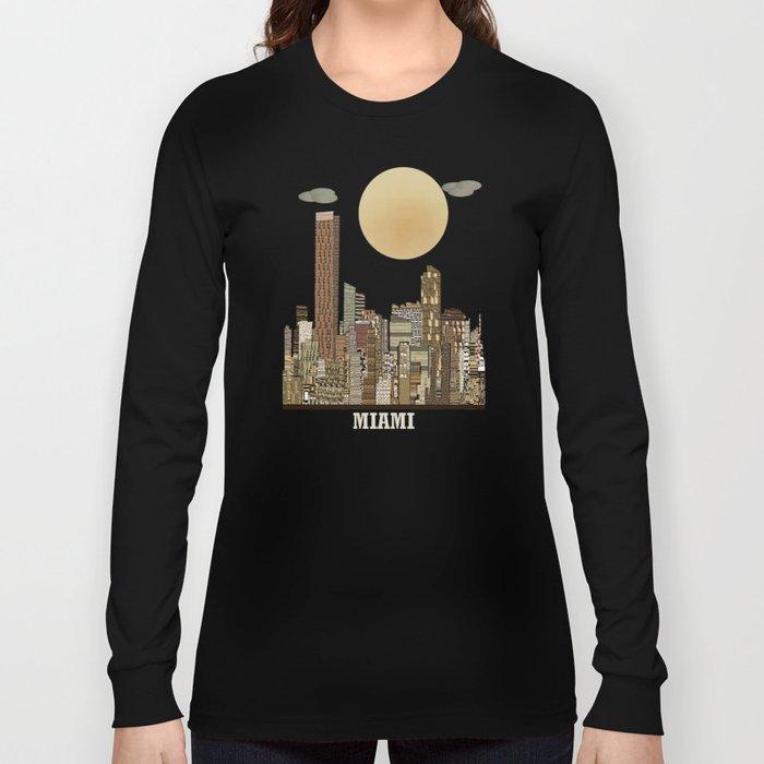 miami city  Long Sleeve T-shirt