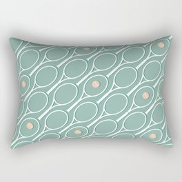 Sea Tennis #society6 #decor #buyart Rectangular Pillow