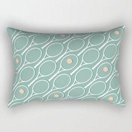 Sea Tennis Rectangular Pillow
