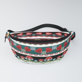 Pattern fun children's . Braid. Fanny Pack