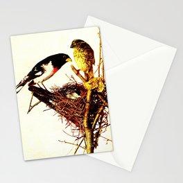Neltje Blanchan - Bird Neighbours (1903) - Rose-Breasted Grossbeak Stationery Cards