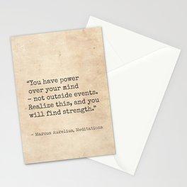Marcus Aurelius, Meditations. Stationery Cards