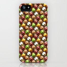 Metallic Beads Pattern iPhone Case