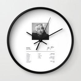 Mac Miller - Circles - Album Illustration Hip Hop Wall Clock