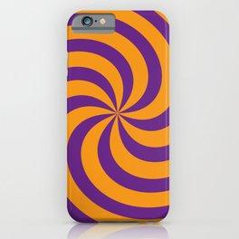 Color Swirl III iPhone Case