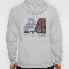 Winter In Paris Hoody