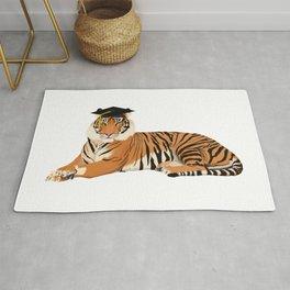 Graduation Tiger Rug