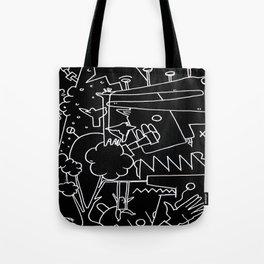 School blackboard Tote Bag