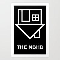 the neighbourhood Art Prints featuring the neighbourhood by Goes4