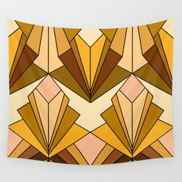 Art Deco meets the 70s - Large Scale Wall Tapestry