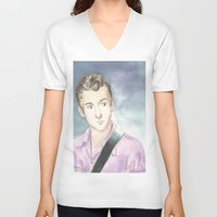 alex turner V-neck T-shirts featuring Alex Turner by SirScm