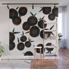 Black is the new Orange Wall Mural
