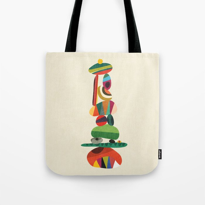 Totem - balanced pebbles Tote Bag