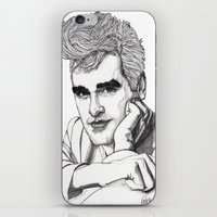 smiths iPhone & iPod Skins featuring This Charming Man  by Paul Nelson-Esch Art