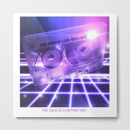 The Gracie-Law Mixtape T-shirt Metal Print