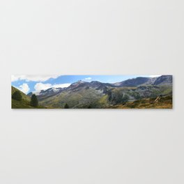 Summer in the Alps Canvas Print