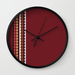 Peruvian Purple Wall Clock
