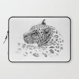 Leopard - Glance back Laptop Sleeve