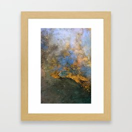 Colorful Abstract Clouds No.2 (V) Framed Art Print