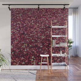 cranberry party Wall Mural
