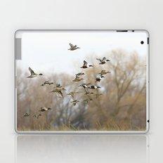 Ducks in Autumn Flight Laptop & iPad Skin