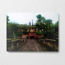 Cathedral in Scotland Metal Print