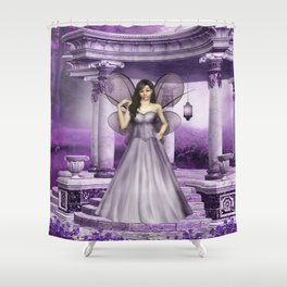 The Orient Shower Curtain