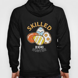 Skilled Egg Hunter Funny Easter Egg print Hoody