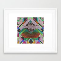 eternal sunshine Framed Art Prints featuring eternal sunshine by maya wamu